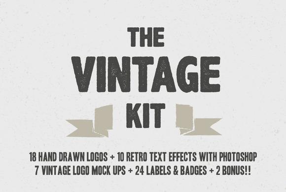 BUNDLE The Vintage Kit