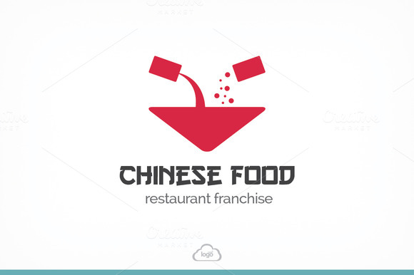 Chinese Food Logo Template