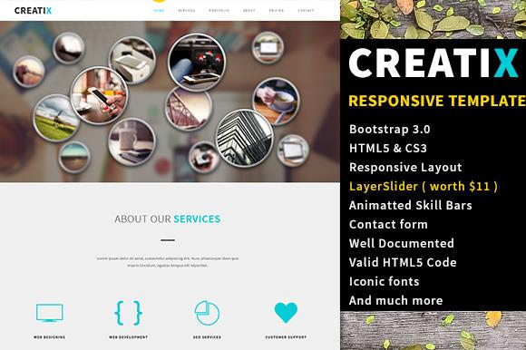 CreatiX Responsive HTML5 Template