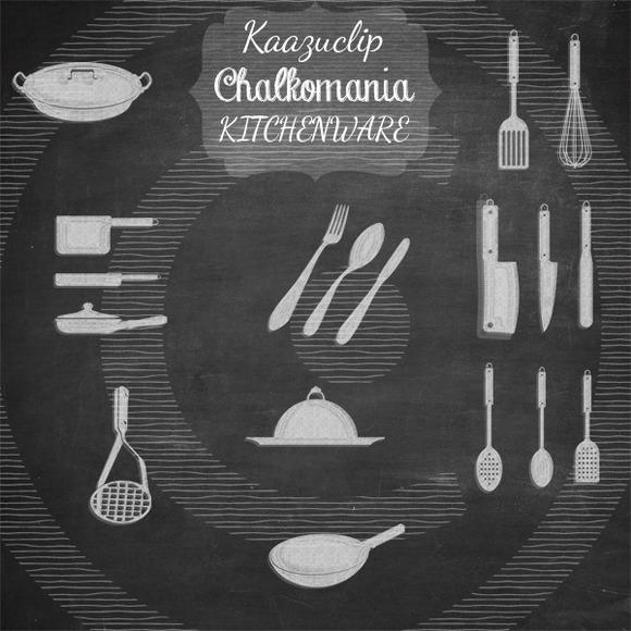 Chalkart Kitchenware Collection