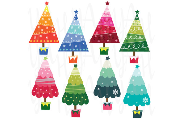 Colorful Christmas Tree