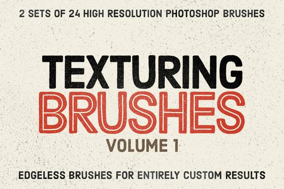 Texturing Brushes Set Volume 1