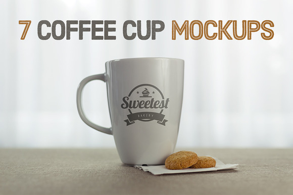 7 Coffee Cup Mockups Save Over 50%