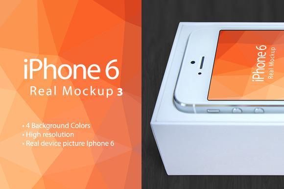 Mockup Iphone 6 Real Mockup 3