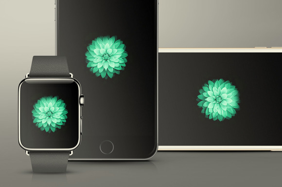 IPhone 6 IWatch Mockups Pack
