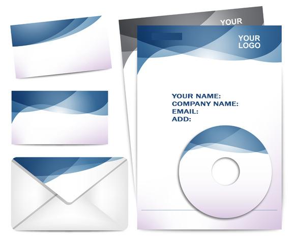 V3 Business Card Stationary