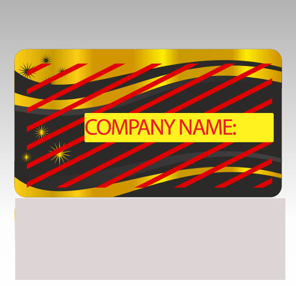 V3 Glossy Gold Business Card