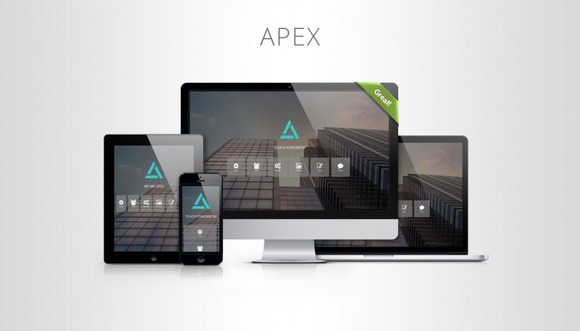 APEX One Page Template