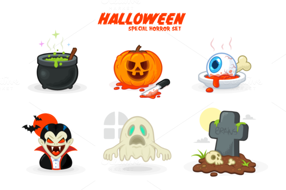 Halloween Horror Icons