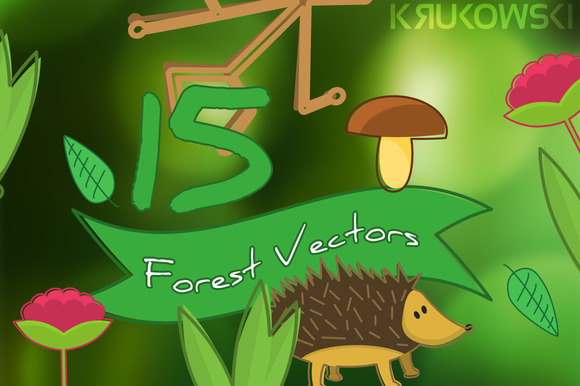 Forest Vector Illustrations