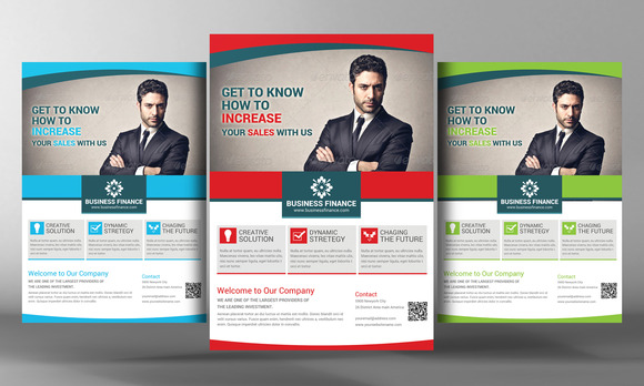 Business And Finance Corporate Flyer