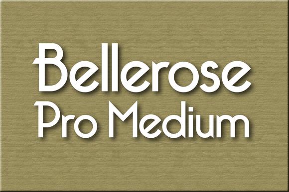 Bellerose Pro Medium