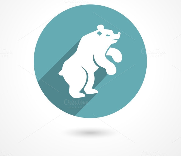 Market Bear Icon