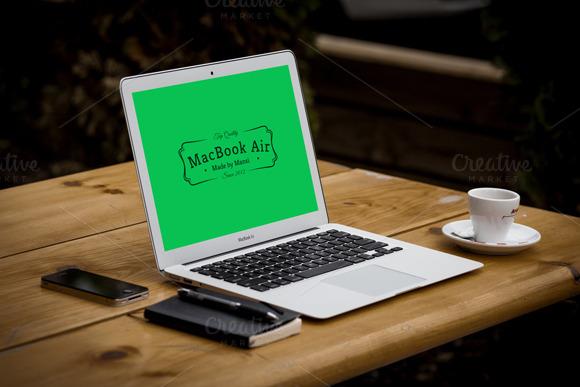 Mockup For MacBook Air