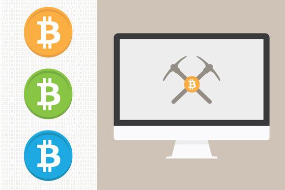 Bitcoin Icons Bitcoin Mining