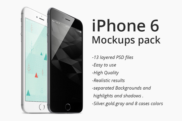 IPhone 6 Plus Mockups Pack