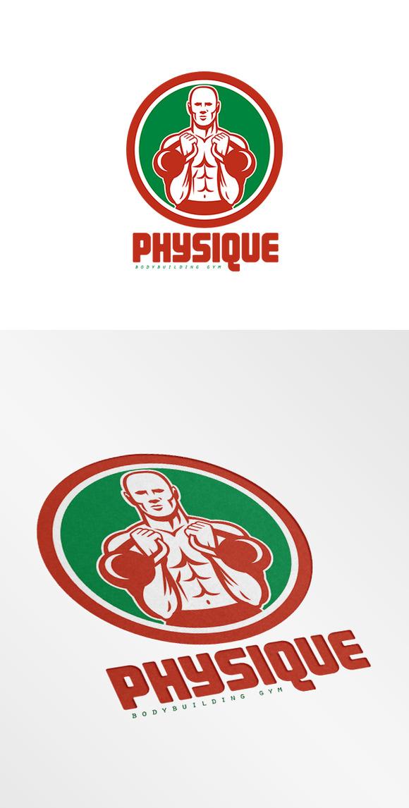 Physique Bodybuilding Gym Logo