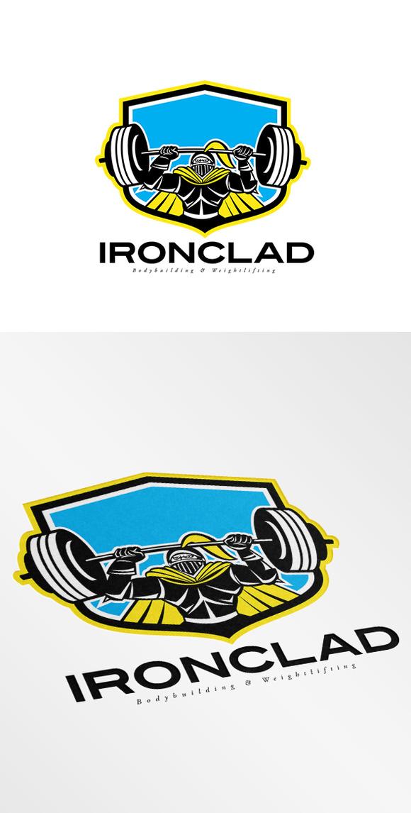 Ironclad Bodybuilding Logo