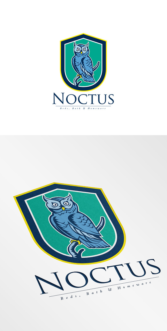 Noctus Bed Bath And Homewares Logo