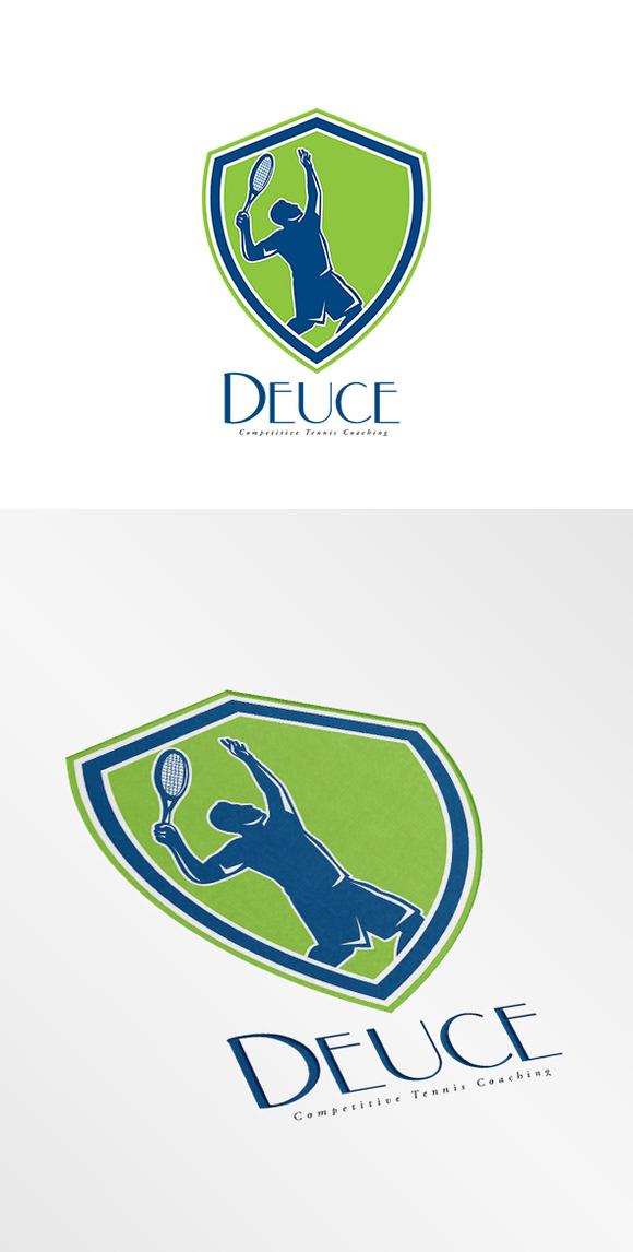 Deuce Tennis Coaching Logo