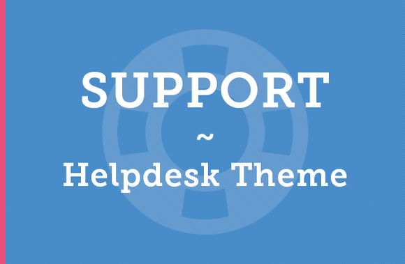 Support Helpdesk Theme