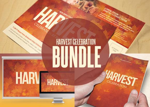 Harvest Celebration Template Bundle