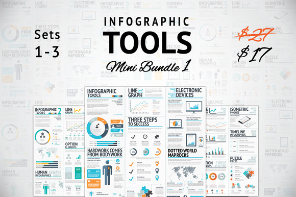 -37% Infographic Tools Mini Bundle 1