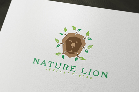 Nature Lion Logo