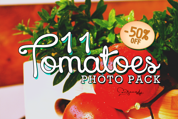 50%Off Ўс 11 Tomatoes Photo Pack