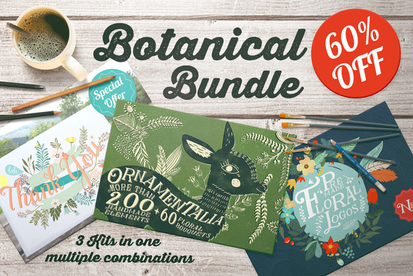 Botanical Bundle 60% Off
