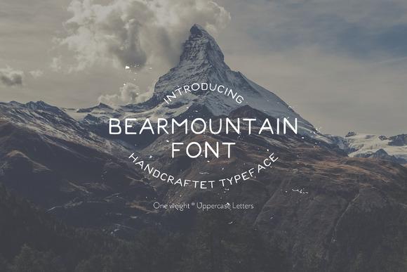 Bearmountain Handmade Font