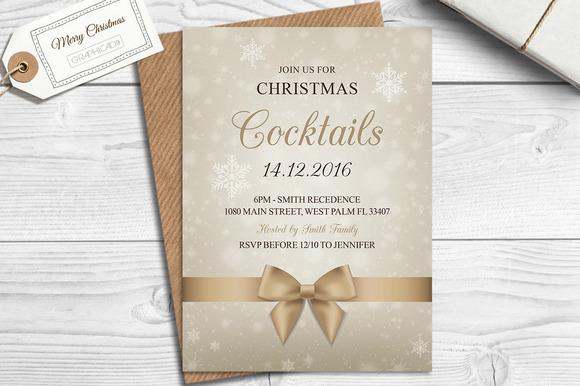 Christmas Holiday Party Invitation