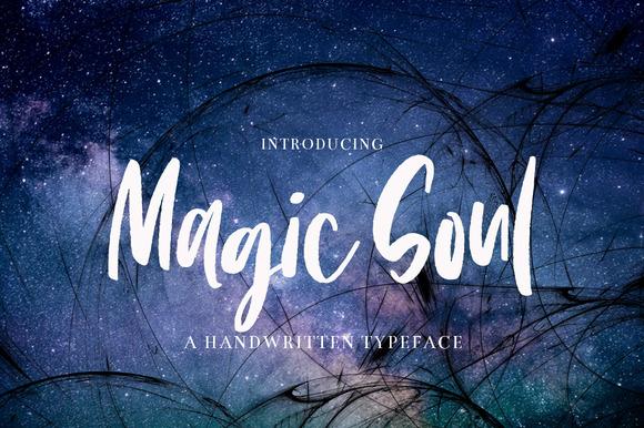 Magic Soul-Handwritten Typeface
