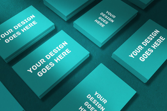 Corporate Business Card Mock-up