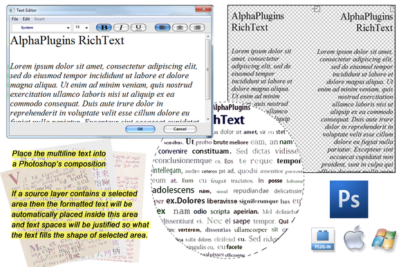 AlphaPlugins RichText
