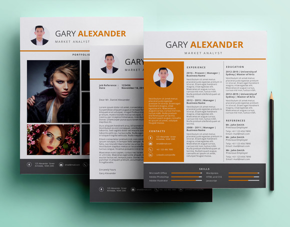 PowerPoint Resume Pack Template