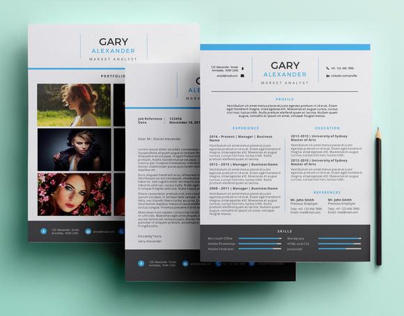 Creative PowerPoint Resume Pack