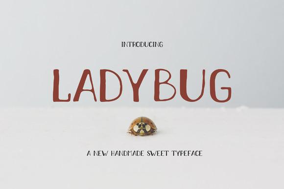 Ladybug Typeface