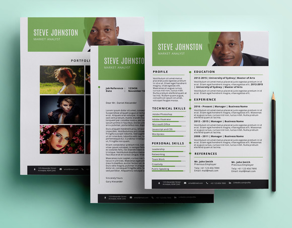 Creative Pptx Resume Pack