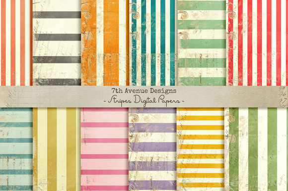 Stripes Digital Papers