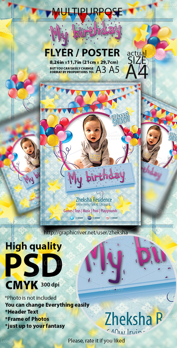 Kids Event Flyer