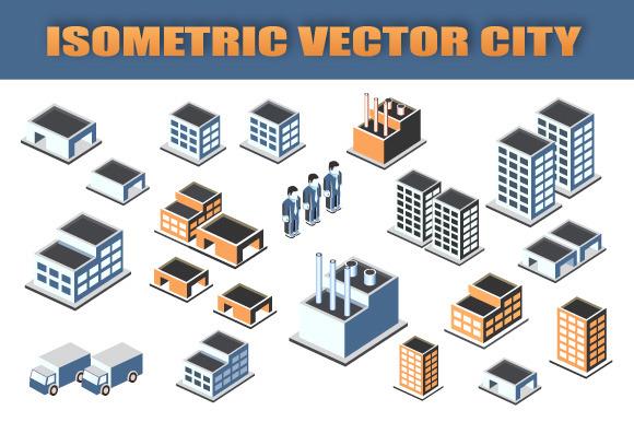 Isometric Vector