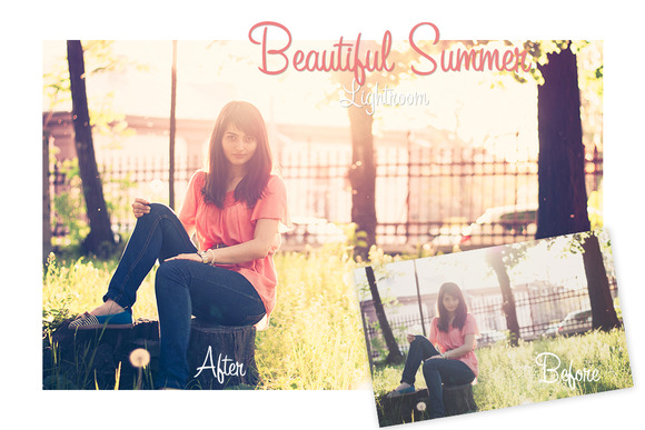 Beautiful Summer Lightroom Preset