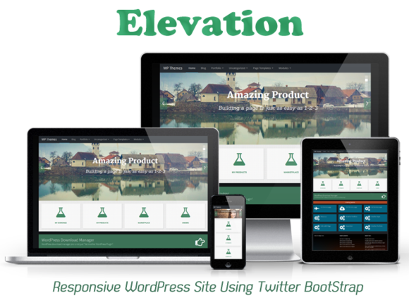 Elevation Responsive WP Theme