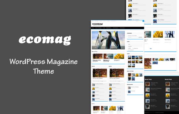 EcoMag WordPress Magazine Theme