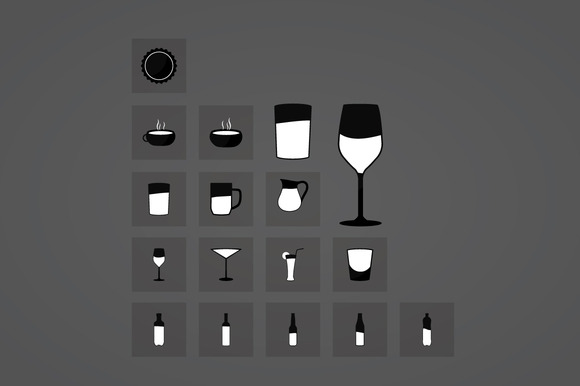 Vector Drink Icons