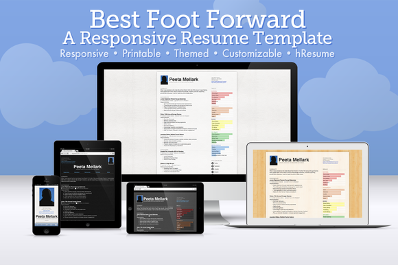 Best Foot Forward Resume Template