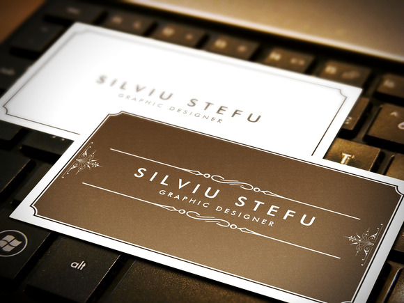 Business Card Mockups Pack 2