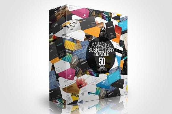 Business Card Bundle 50 Designs