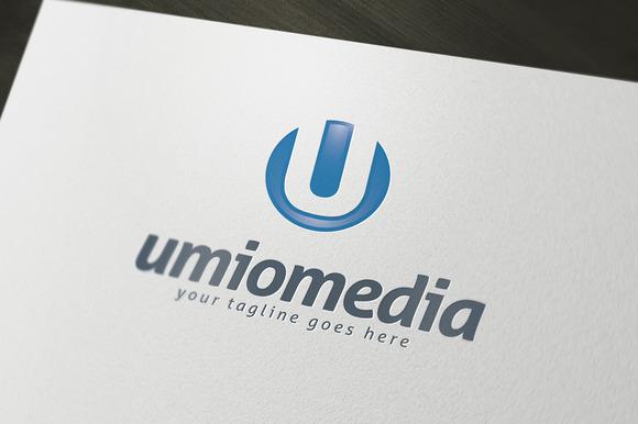 Umion Media Logo Template